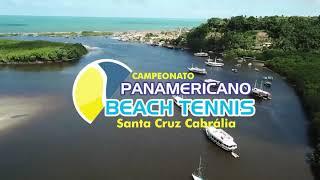 Campeonato Panamericano de Beach Tennis Santa Cruz Cabrália BA Brasil