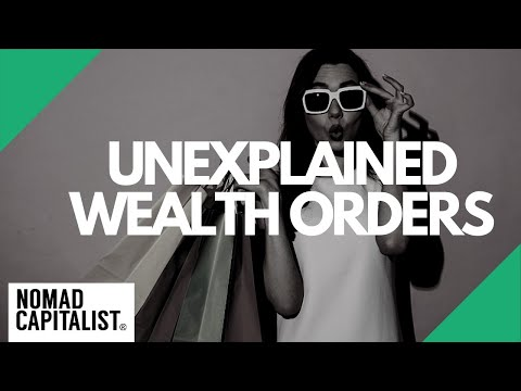 What are Unexplained Wealth Orders?