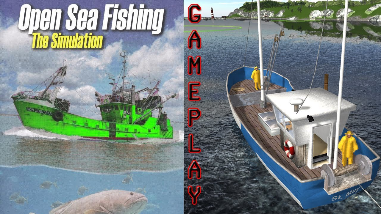 open sea fishing simulator gameplay pc hd youtube