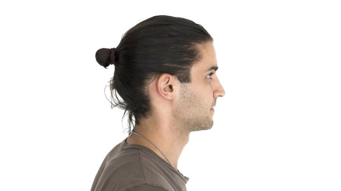 how to style a man bun � grooming gq youtube