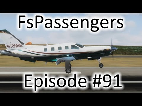 FSX | FsPassengers - Ep. #91 - Flying to Turks & Caicos | TBM 850