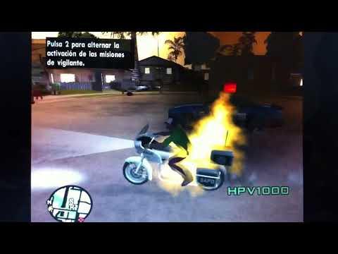 Gta San Andreas Moto Del Vengador Fantasma