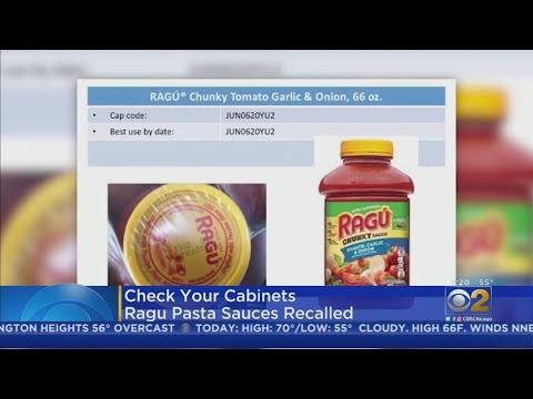 Shelley Wade - Recall Alert: Ragu Is Recalling Several Sauces
