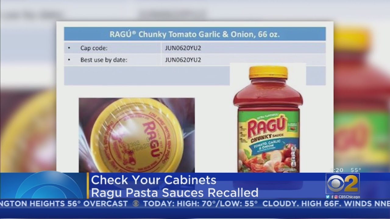 Ragu recalls pasta sauces that may be contaminated with plastic fragments