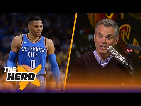 Colin on Westrbook after OKC's 120-112 loss to the Cavs, Lonzo's future in LA | THE HERD