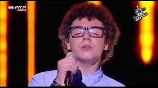 Carlos Pinheiro - Cavaleiro Andante - Gala - The Voice Kids