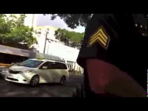 Making a complaint on a berserk police officer (Honolulu Police Department)