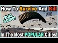 Pubg Mobile : How To Survive & Get More Kills In The Most POPULAR Cities | Full Guide