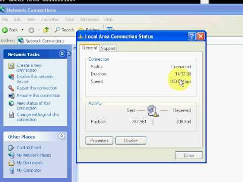 How to get your IP address in Windows XP