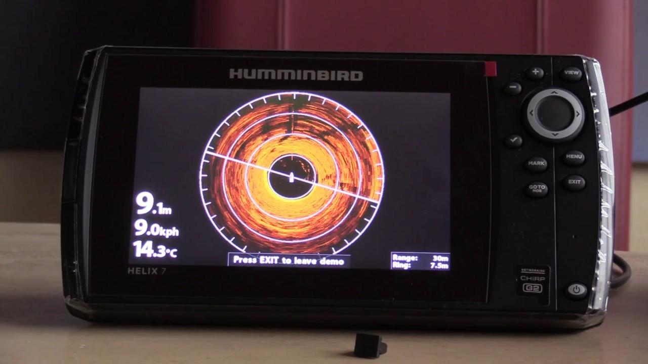 HUMMINBIRD HELIX 7 CHIRP 7 SI GPS G2N