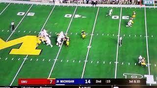 SMU vs Michigan College Football Week 3 CFL 2018