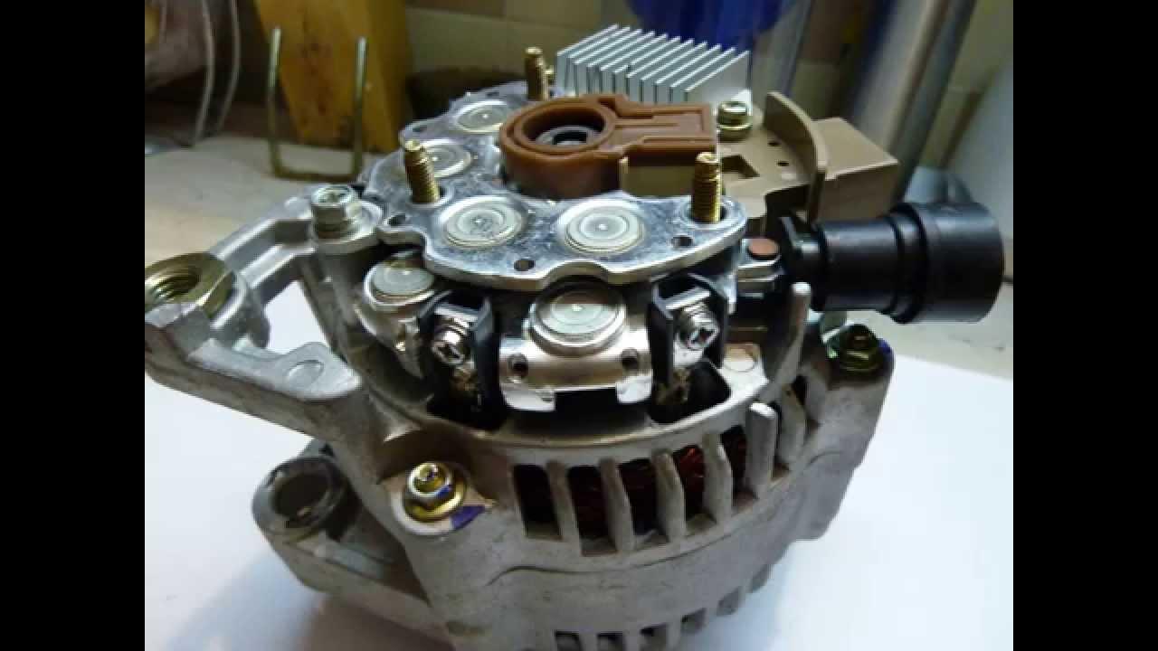 Chery схема генератора