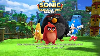 Sonic Generations and Angry Birds