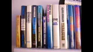 clive cussler signed us first editions collection