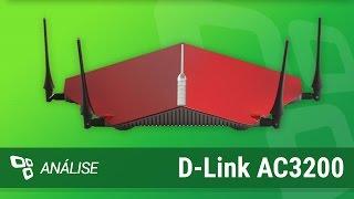 Roteador D-Link AC3200 [Análise] - TecMundo