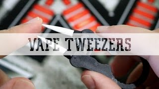 Coil Master Vape Tweezers Review and Giveaway
