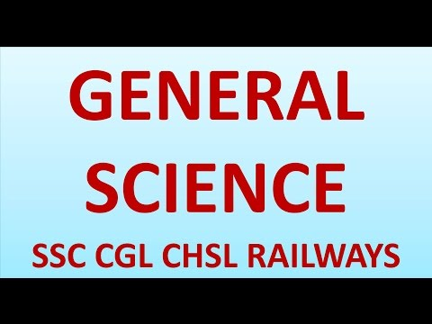 BIOLOGY INTRODUCTION & CELL GENERAL SCIENCE SESSION 1 FOR SSC CGL CHSL RAILWAYS