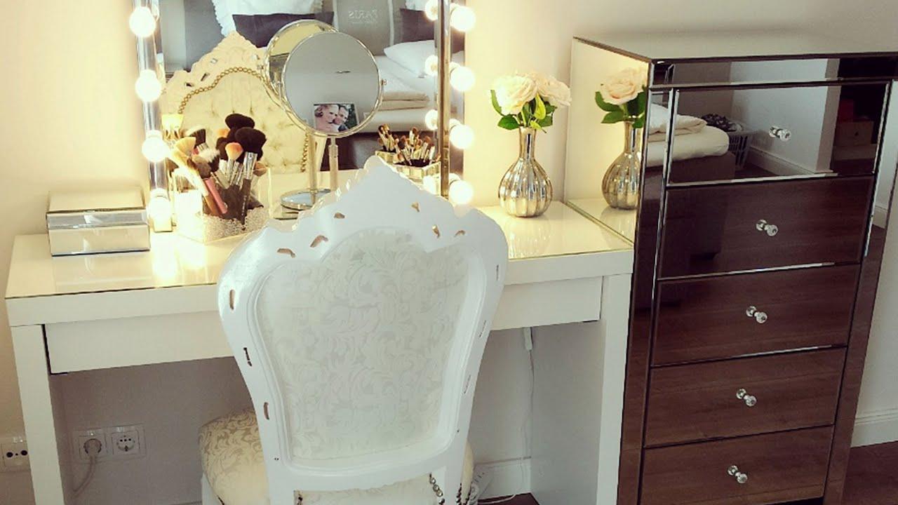 neue make up aufbewahrung youtube. Black Bedroom Furniture Sets. Home Design Ideas