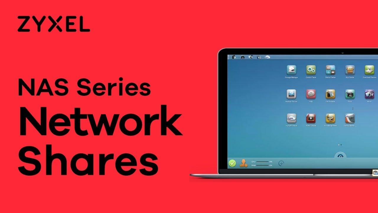 Zyxel NAS Series - Create Windows Networkshares with Zyxel NAS