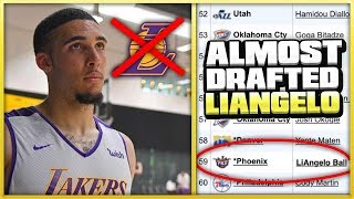 The ONLY NBA Team That CONSIDERED Drafting LIANGELO BALL..