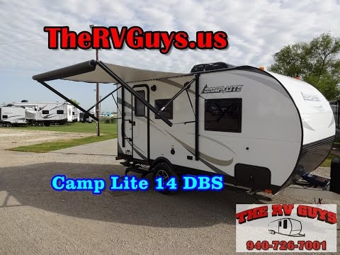 2018 Camp Lite 14DBS, 14' with Slide Just Reduced