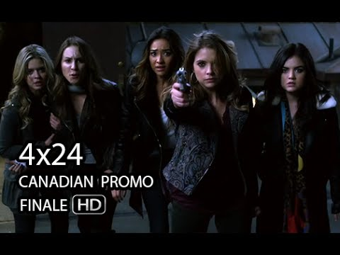 """Pretty Little Liars 4x24 CANADIAN Promo [HD] - """"A is for Answers"""" - Season 4 Episode 24"""