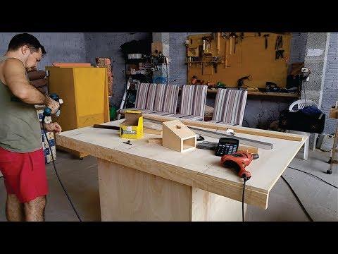 Construção Da Serra De Bancada (mais Detalhes)/ Table Saw Construction