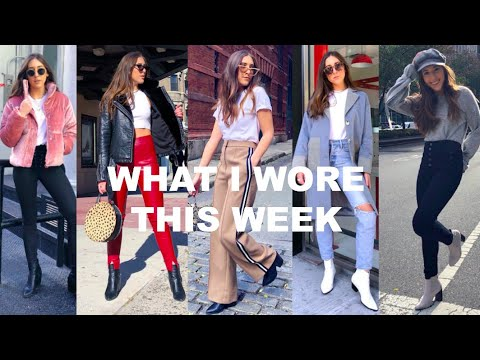 WHAT I WORE THIS WEEK || FALL IN NYC OUTFITS 2018 1