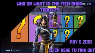 FORTNITE NEW ITEM SHOP TODAY MAY 5TH (NEW SKIN) COLE BATTLE ROYALE LIVE ITEM