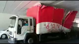 חחחחח משאית של כורדים,  סע סע אין משטרה. קורע אששש!