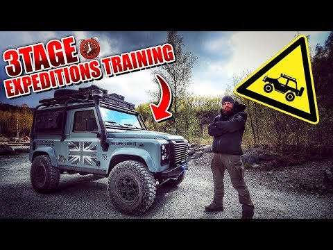 3 Tage Expeditions Training - Land Rover Experience Tour 2019 LET - Overnighter Übernachtung