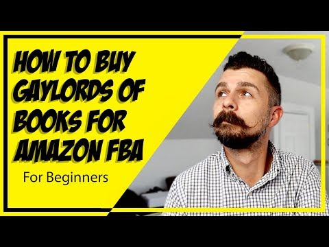 How To Buy Gaylords Of Bulk Books   Sell Used Books On Amazon FBA