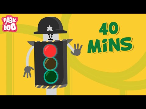 Traffic Signal & Many More Nursery Rhymes For Children | Popular Nursery Rhymes Collection For Kids
