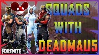 Fortnite - Squads with deadmau5 - April 2018 | DrLupo