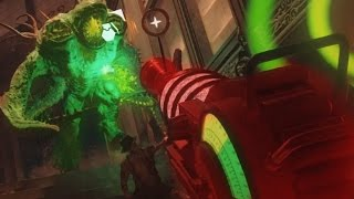 "BLACK OPS 3 ZOMBIES RAY GUN! ""Shadows of Evil"" Gameplay TheRelaxingEnd"