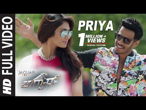 Jaguar Kannada Movie Songs | Priya Priya...