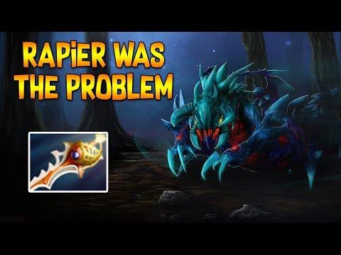 DIVINE RAPIER WAS THE PROBLEM? ◄ SingSing Moments Dota 2 Stream