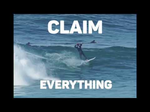 """This is why you don't """"Claim"""" a wave - FUNNY"""