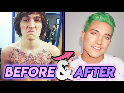 Nathan Schwandt | Before and After Transformation | Jeffree Star & Nate Schwandt Breakup