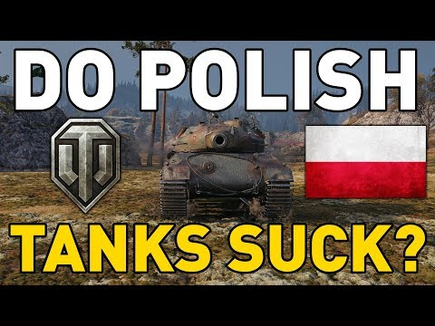 Do Polish Tanks SUCK In World Of Tanks?
