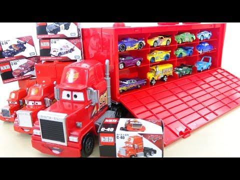 Disney Pixar Cars 3 Big Mack Truck 24 TOMICA Lightning McQueen Car Toys for Kids  