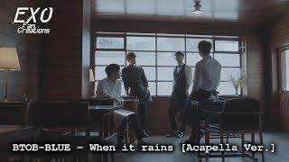 btobblue when it rains instrumental