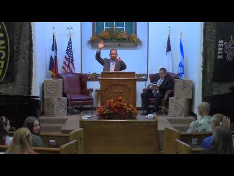 Wednesday Evening Service 10-18-2017