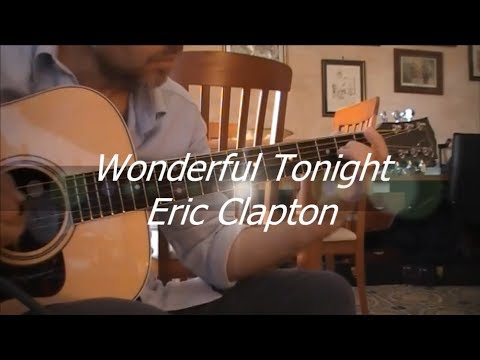 Eric Clapton - Wonderful Tonight - Acoustic Guitar Cover (with TAB)