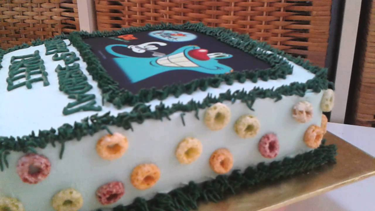Oggy Cake by Zee Helena YouTube