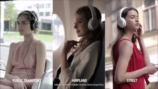 Sony sluchátka - potlačení okolního zvuku