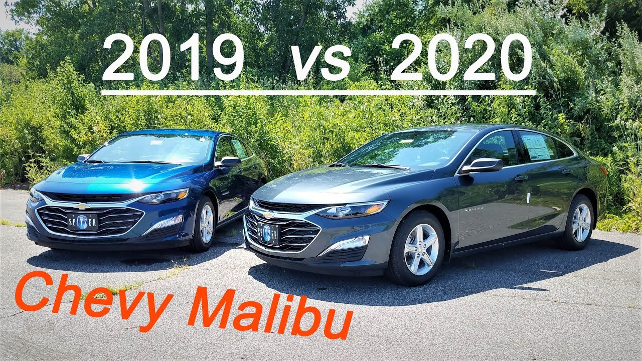 Chevy Malibu 2020 Review.2019 Chevy Malibu Vs 2020 Chevy Malibu 4 Big Differences Here Is What S New
