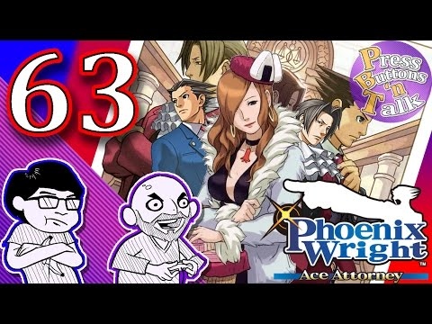 Phoenix Wright: Ace Attorney, Ep. 63: Ugly Knife - Press Buttons 'n Talk
