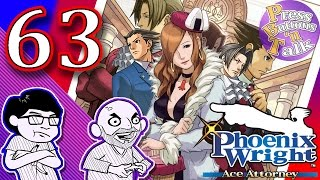 phoenix wright ace attorney ep 63 ugly knife press buttons n talk
