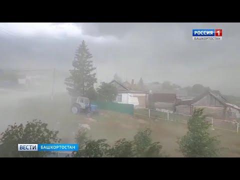 Ураган в селе